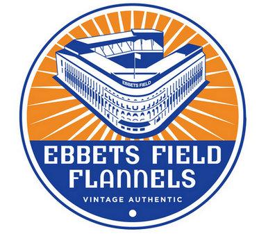美国经典老牌EBBETS FIELD FLANNEL logo 壁纸