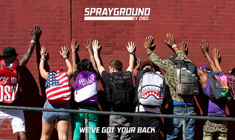 Sprayground双肩包