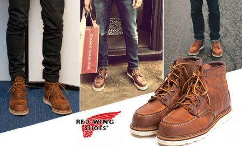Red Wing靴子 经久不衰的美国工装靴潮牌