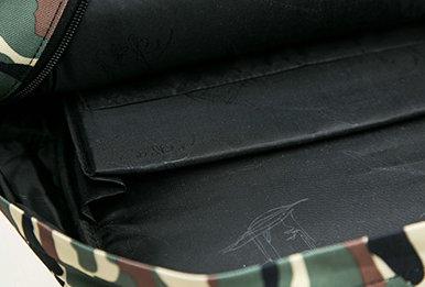 背包内里细节图案