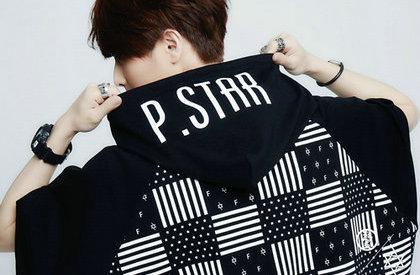 热血FEVER x P.STAR联名斗篷外套