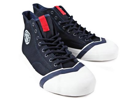 日本潮LOSERS蓝色休闲运动鞋