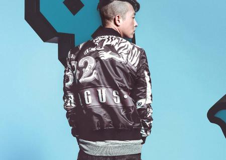 香港潮牌BURANDO ENO 老虎奇幻印花夹克外套
