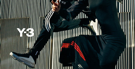 Y-3 adidas与山本耀司合作时尚运动品牌