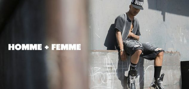 Homme Femme LA 来自洛杉矶的浓郁美国街头风品牌