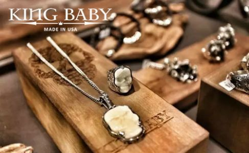 KING BABY 美国高端手工银饰品牌
