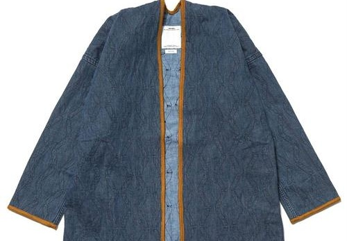 visvim 推出 2017 秋冬全新蓝染竹纹 Sanjuro Kimono 外套,具有浓郁的日式和风单品