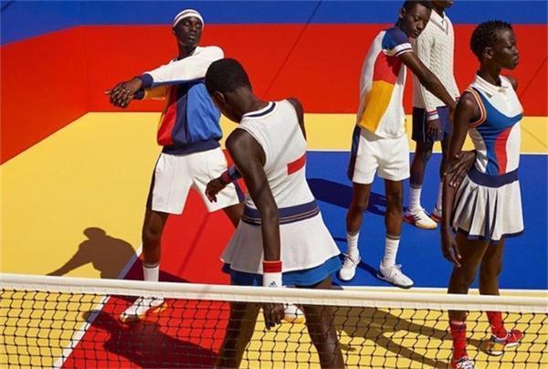 adidas Originals by Pharrell Williams 全新联名网球系列,感受一下菲董的色彩游戏!