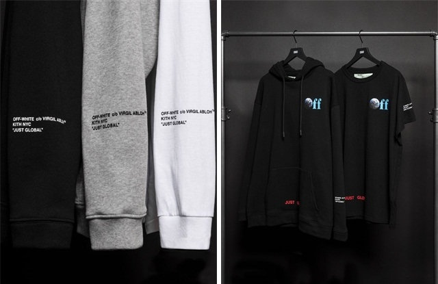 KITH x Off-White 推出全新「JUST GLOBAL」联名系列