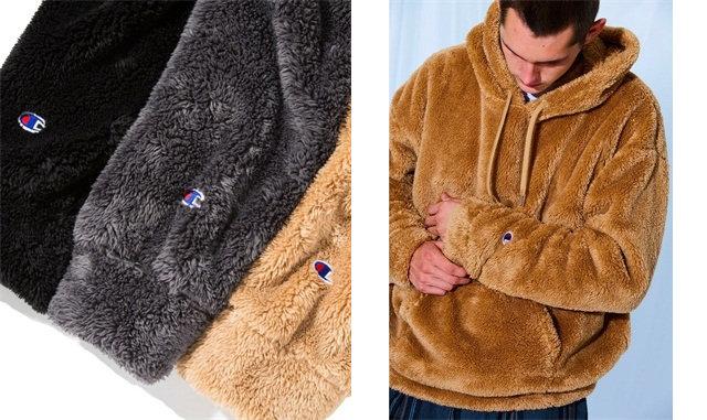 monkey time 携手 Champion 打造全新羊毛外套