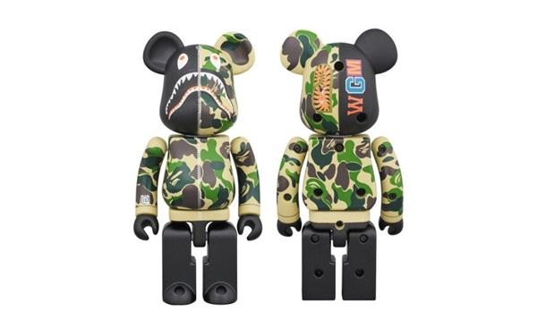 Bearbrick积木熊 日本玩具公司MEDICOM旗下最著名玩具熊(附官网)