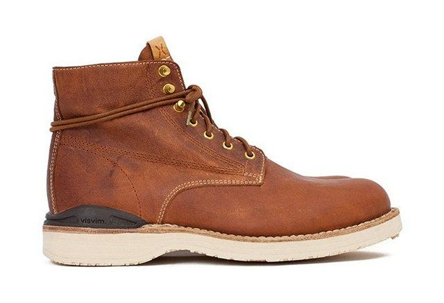visvim 发布 2017 秋冬全新 Virgil Boots-Folk 靴款系列,展示日本第一潮鞋卓越工艺