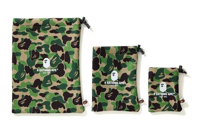 BAPE 推出 ABC Camo 电子产品收纳袋系列,实用的迷彩收纳袋一定很潮!~