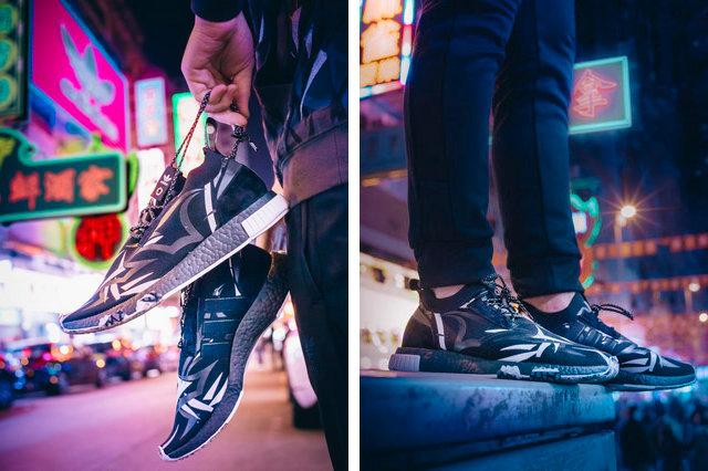 "JUICE x adidas Consortium NMD Racer""黑荆棘""鞋款,发售详情一览"