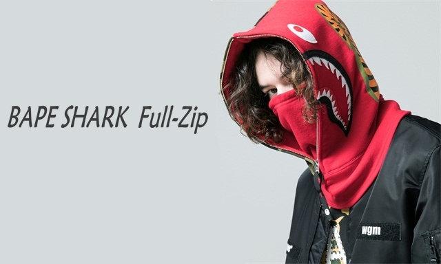 A BATHING APE® 推出防寒鲨鱼头套,更加直白的玩转 SHARK 元素