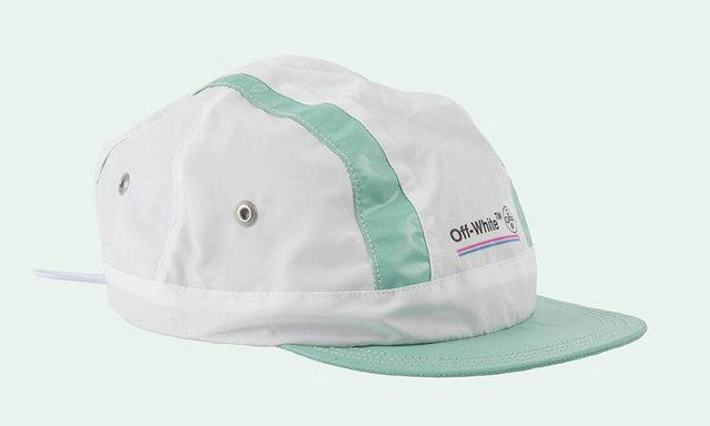 美国高街潮牌 OFF-WHITE 发布两款限量单车帽,时尚与运动的结合才是趋势