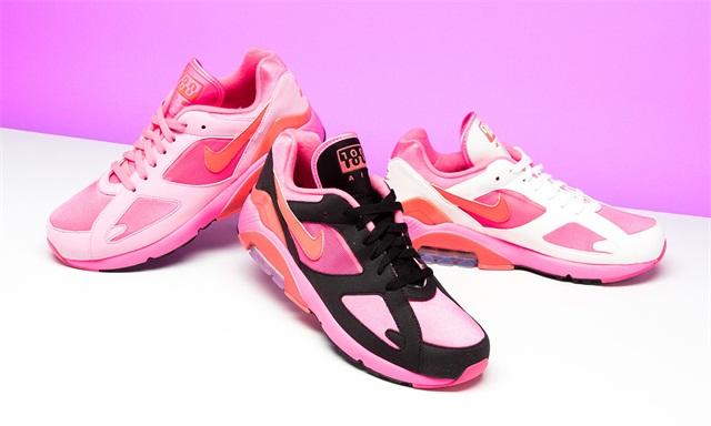 COMME des GARÇONS 川久保玲 x Nike Air Max 180 联名系列,三款配色一同公布