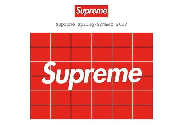 Supreme 公布 2018 春夏系列具体日期,钱包君已在瑟瑟发抖~