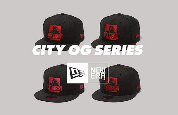 XLARGE x NEW ERA联名棒球帽CITY OG SNAPBACK CAP系列发售