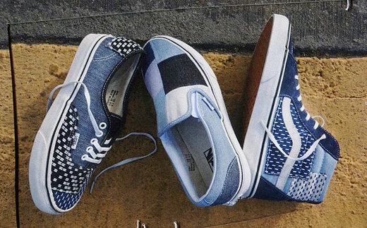 VANS 牛仔系列鞋款本月来袭,三种款型选择