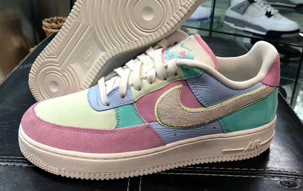 """最强拼接!Nike Air Force 1 """"Easter Egg""""鞋款或再次上架"""