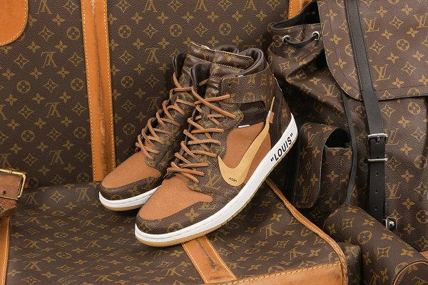 由艺术家打造的 LV x Nike 客制鞋款即将发售,仅仅限量 10 双!