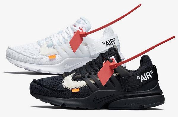 """耐克 x Virgil Abloh """"Air Presto""""V2联名鞋款近赏,「The Ten」版图再度扩大!"""