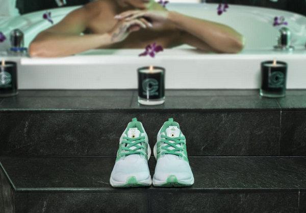 adidas x Concepts 正式发布 Energy BOOST「Shiatsu」联乘鞋款,灵感来自水疗SPA?