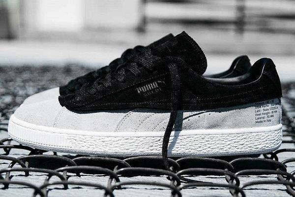 PUMA联手街头品牌STAMPD推出 Puma Suede 50 周年纪念鞋款