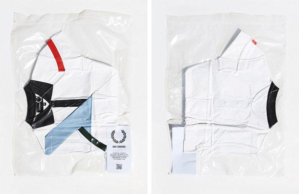 """拉夫·西蒙 x Fred Perry将向世界各地投放 100 件""""真空""""Polo衫"""