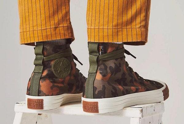 率先近赏匡威 x CORDURA最新联名Chuck Taylor系列鞋款