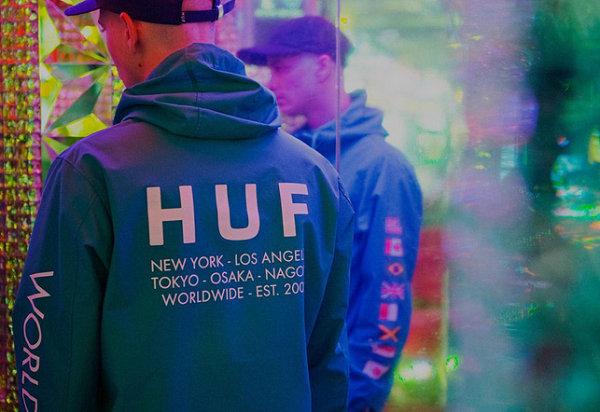美国滑板品牌HUF 2018秋季服饰系列Lookbook完整释出