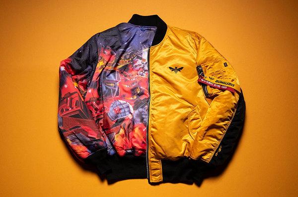 阿尔法工业 x Hasbro 推出《变形金刚》MA-1飞行夹克,为大黄蜂上映预热~