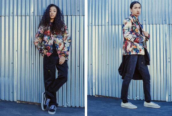 Herschel Supply联名Hoffman California Fabrics 2018秋季花卉新作
