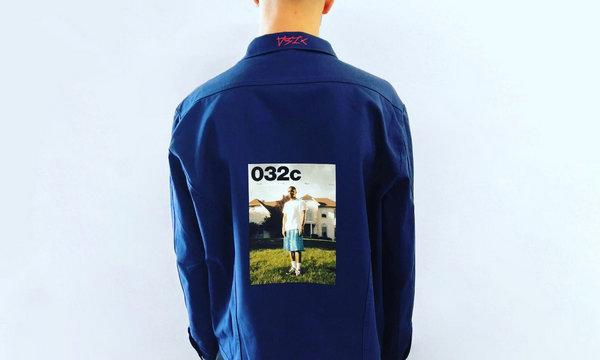 《032c》推出  Frank Ocean 热门贴纸!