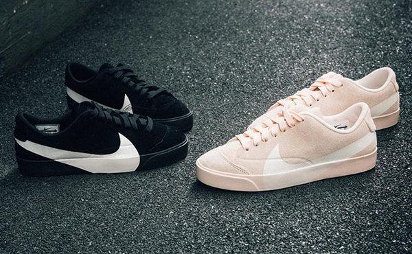 Nike Blazer 鞋款双色实物上脚赏析