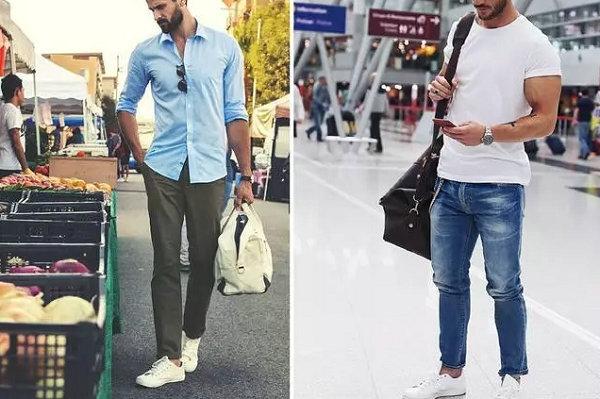 男人穿对九分裤,让你显高又有潮流范儿!