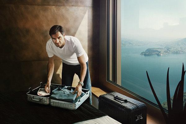行李箱巨头RIMOWA 120年来首个宣传广告?还是费德勒担当主角?