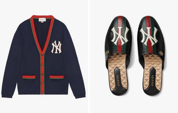 纽约洋基 x Gucci 联名系列单品上架