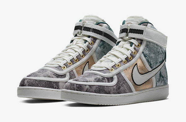 Nike Vandal High Lux 鞋款全新拼接配色版本释出~