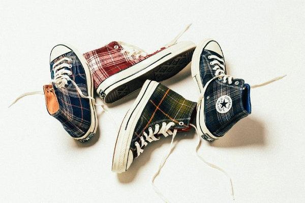 "Converse 全新""Plaid Pack""系列格纹帆布鞋公布发售"