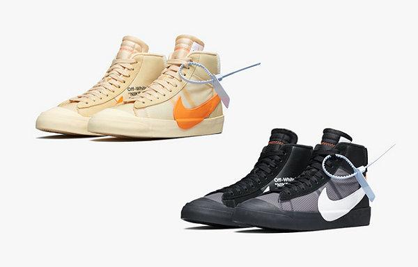 有变?OFF-WHITE x Nike Blazer Mid 万圣节主题联名鞋款推迟上市