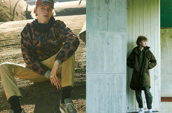 《GRIND》为日本潮牌  uniform experiment 打造 2018 秋冬造型专辑