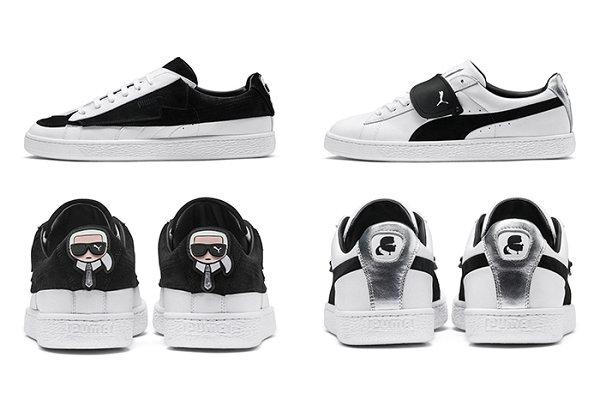 Karl Lagerfeld x PUMA Suede 2018 联名别注系列鞋款祭出
