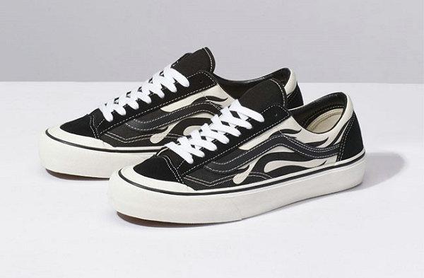 """黑白火焰来袭!VANS Style 36 """"Flame""""鞋款上市发行"""