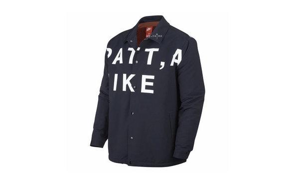Patta x Nike 联名教练夹克曝光,棕色与藏蓝两款~
