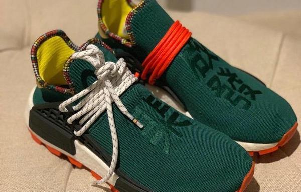 Pharrell x adidas Originals Hu NMD 联名鞋款中国限定配色曝光