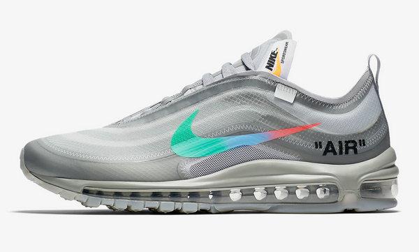 OFF-WHITE x Nike Air Max 97 联名鞋款发售在即~