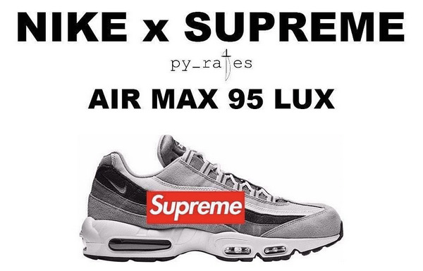 Supreme x Nike Air Max 95 Lux 2019 联名鞋款曝光~