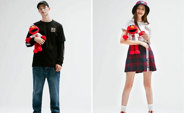 《芝麻街》 x fingercroxx 联乘系列发售,还能换购 Elmo 公仔~